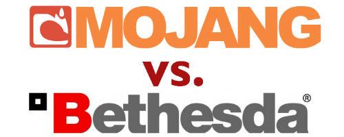 Mojang vs. Bethesda